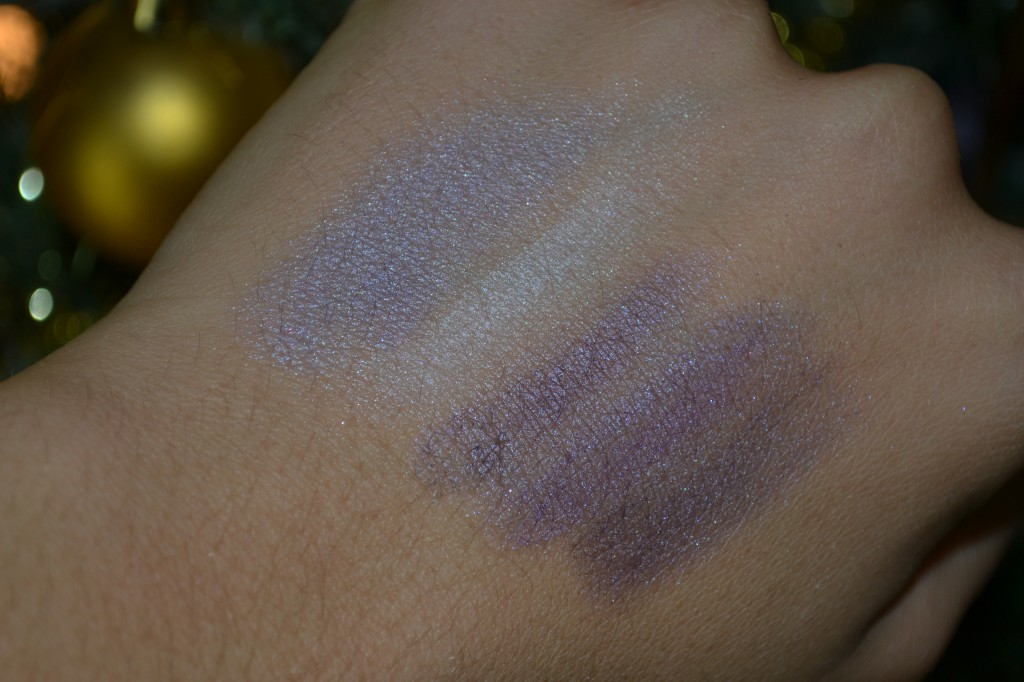 Swatch of the palette with the flash