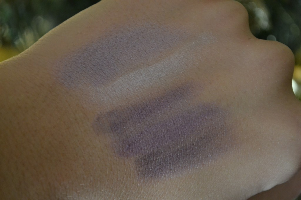 Swatch of the palette without flash