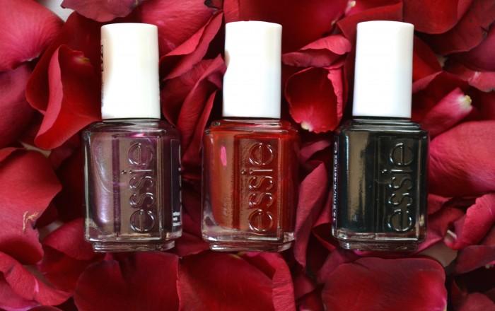 Manicure Monday- Essie Winter Shades