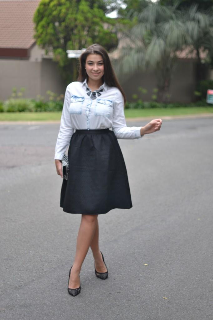 midi skirt looks
