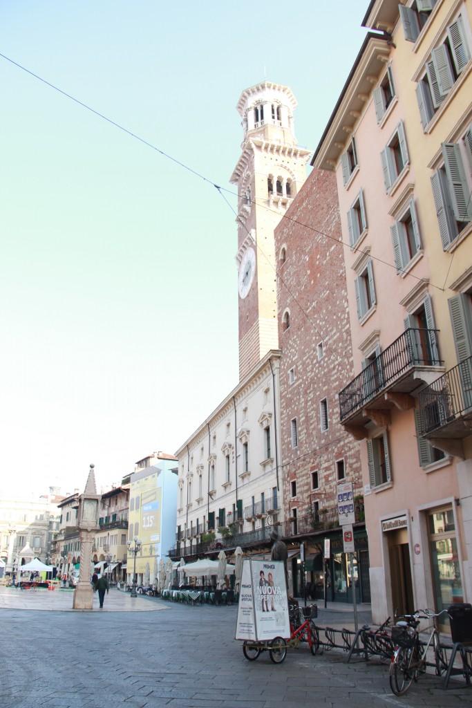 The main square in Verona