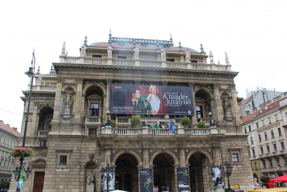 The main Opera Theatre in Budapest