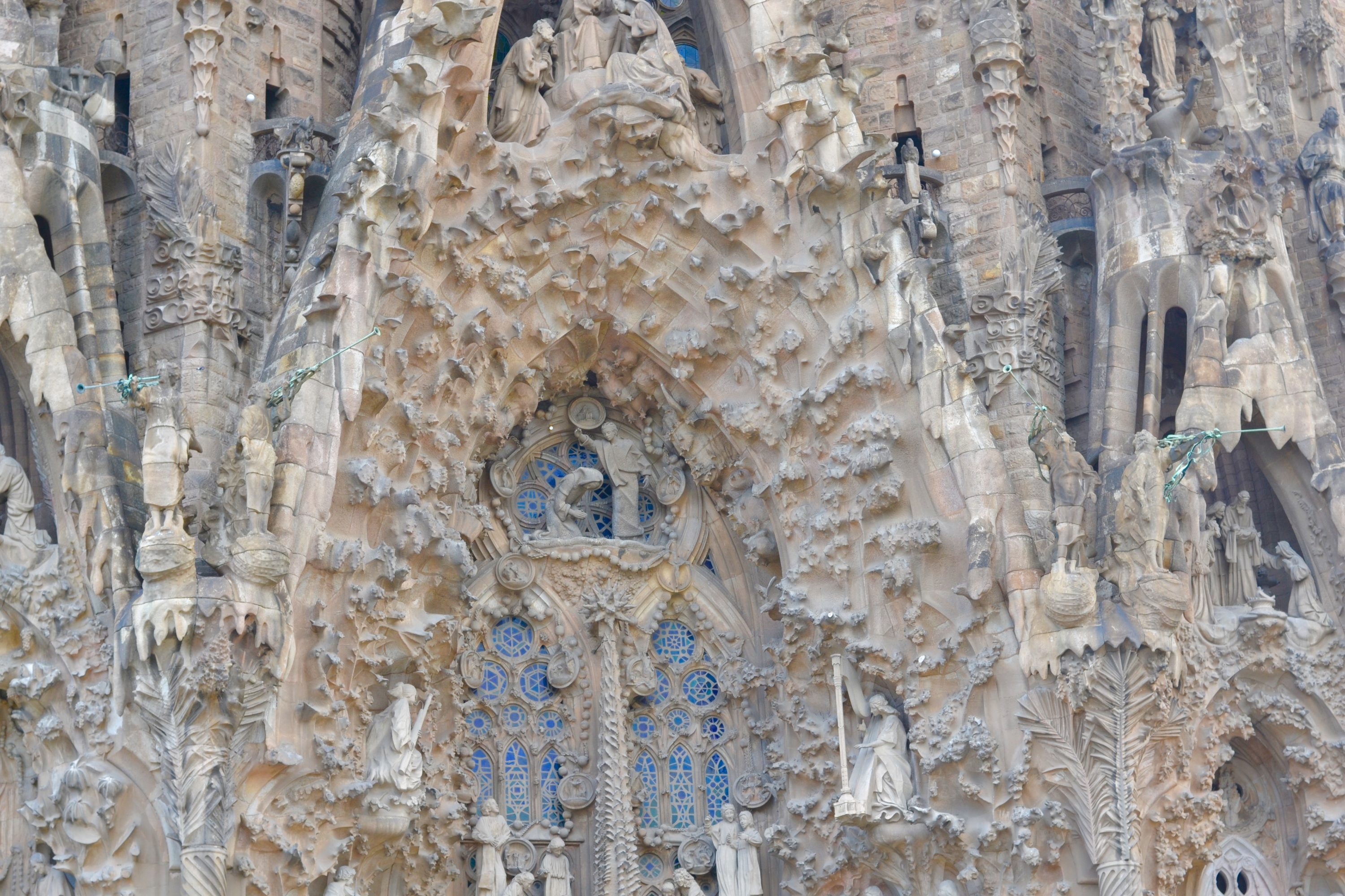 The detail on La Sagrada is mind blowing