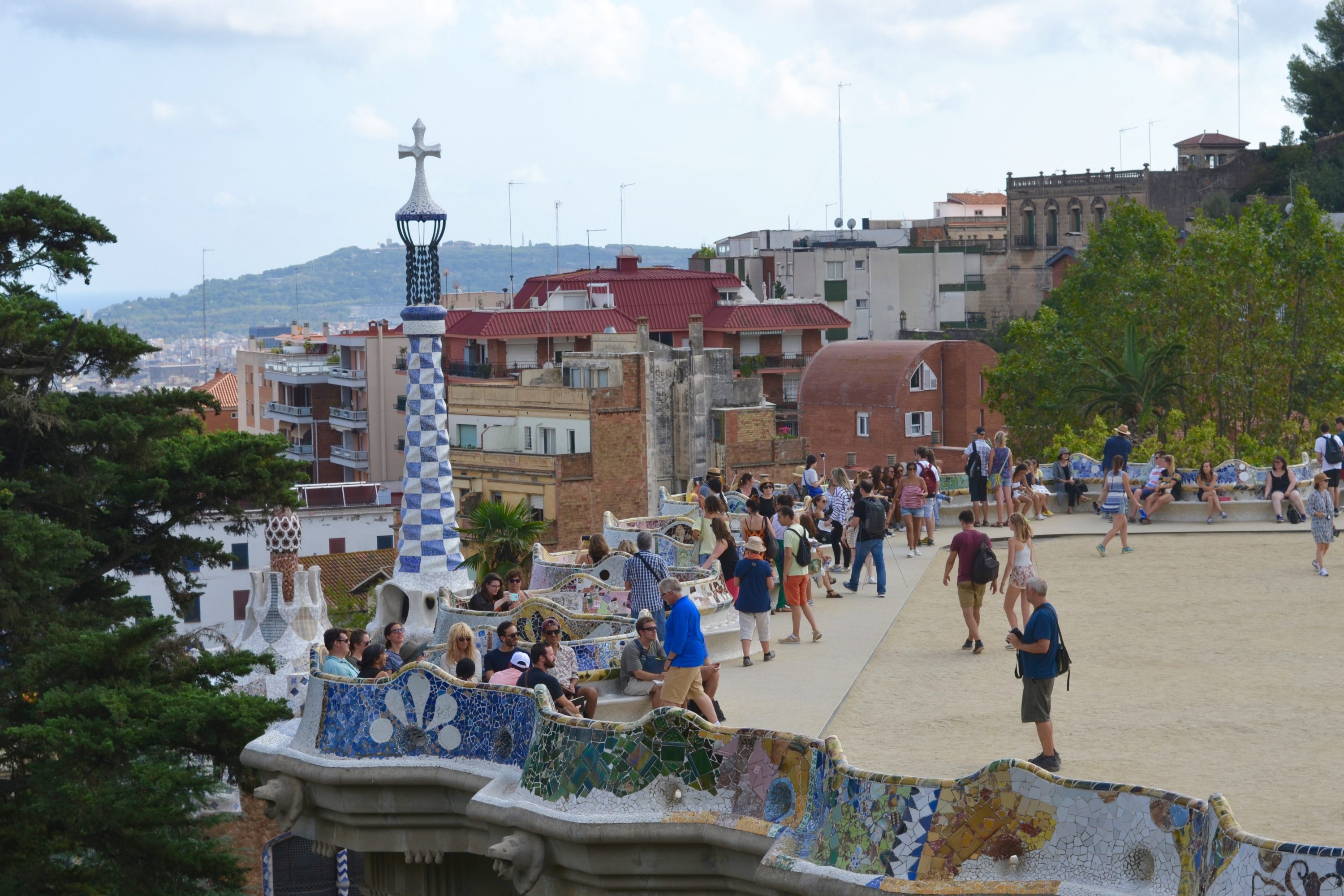 We saw a liiiitle of Park Guell