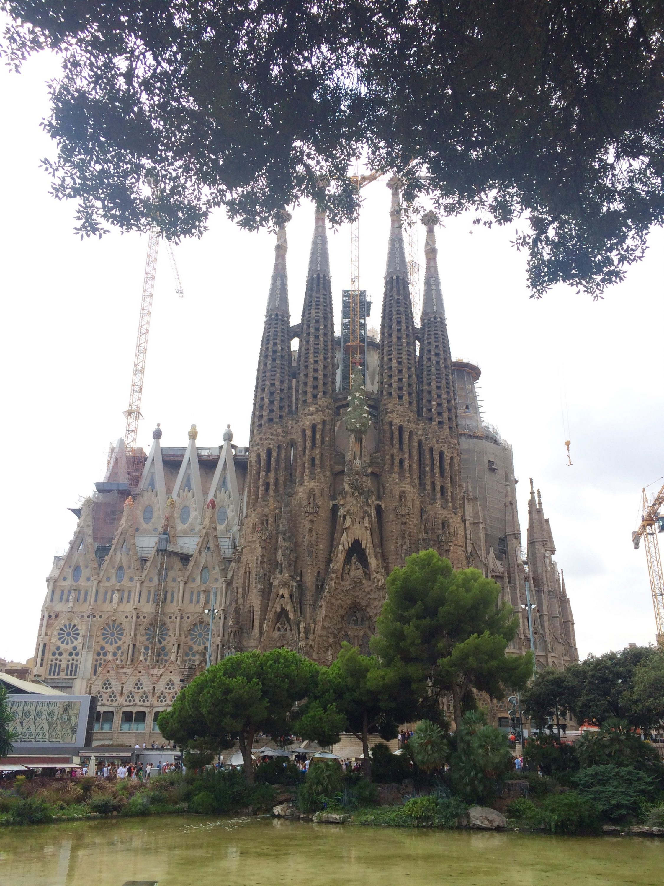 The amazing La Sagrada Familia