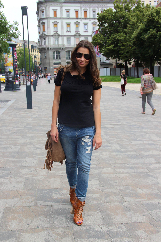 Strolling around Budapest
