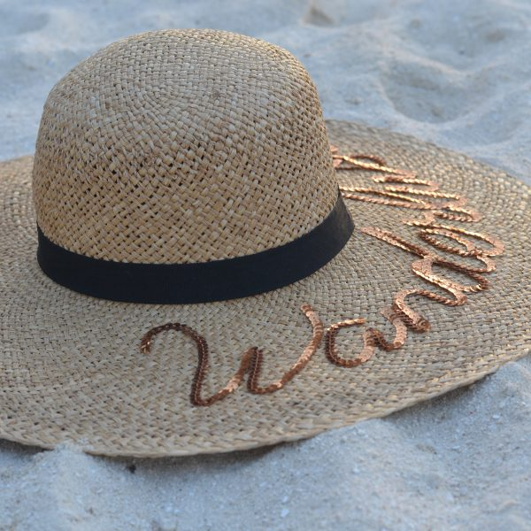 Lookbook- Beach Vibes, Hat Vibes graphic