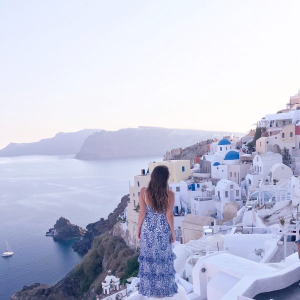 Santorini Photo Diary and Travel Tips graphic