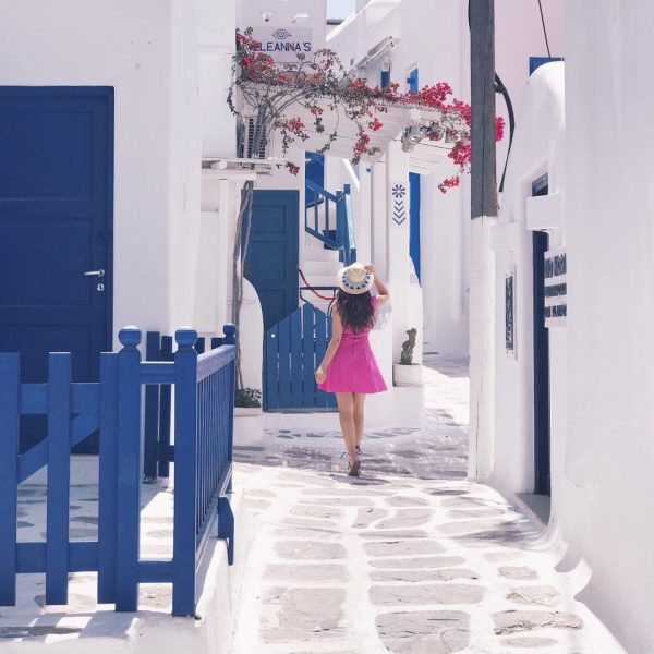 Mykonos Travel Tips And Photo Diary graphic